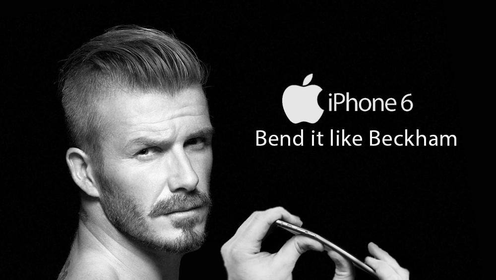 Bend it like Beckham iPhone 6