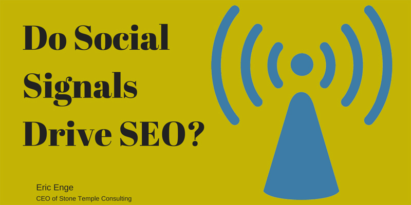 Do Social Signals impact our SEO?