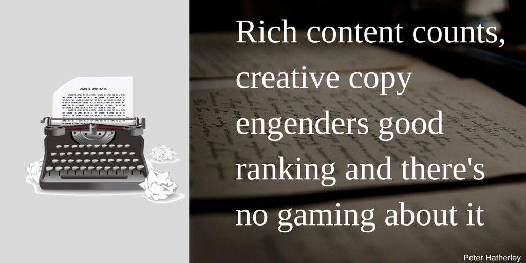 Rich Content and Rankings