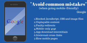Mobile Friendly Mistakes