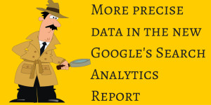 Google's Search Analytics Report