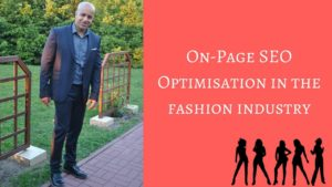 On-Page SEO Optimisation in the fashion industry