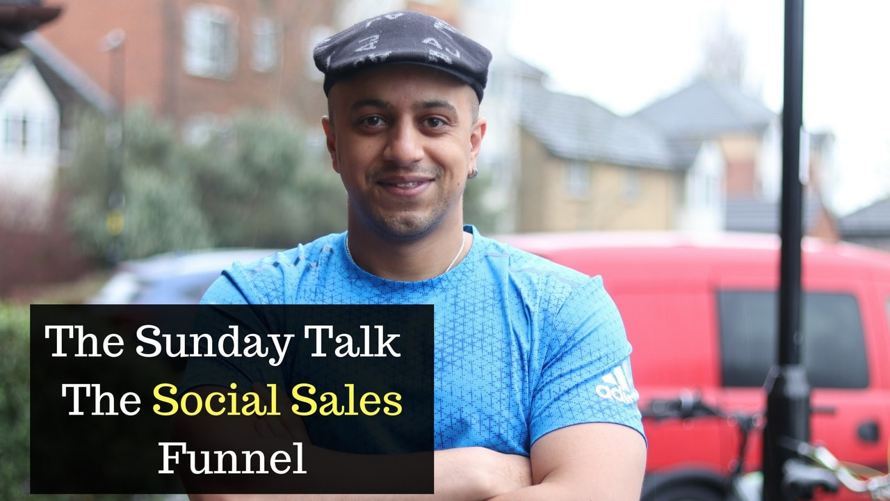 The Sunday Talk - The Social Sales Funnel