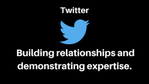 Twitter - Building Relationships