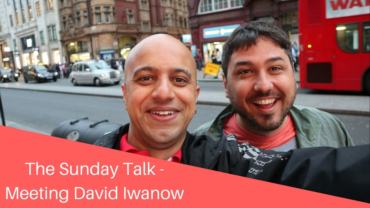 The Sunday Talk - Meeting David Iwanow