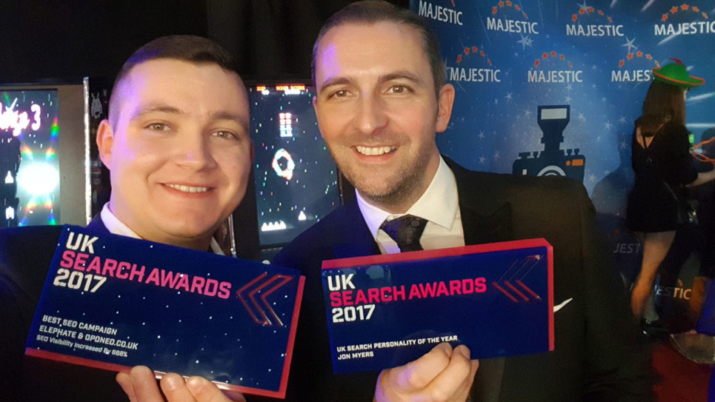 John Myers - UK Search Personality of the Year