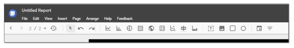 Building you Report in Google Data Studio