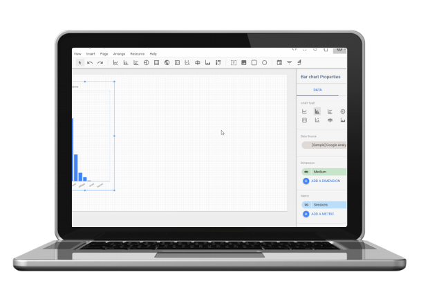 Canvas size in Google Data Studio