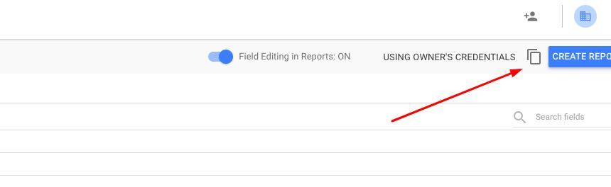 Copying data source in Google Data Studio