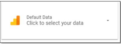Data control in Google Data Studio