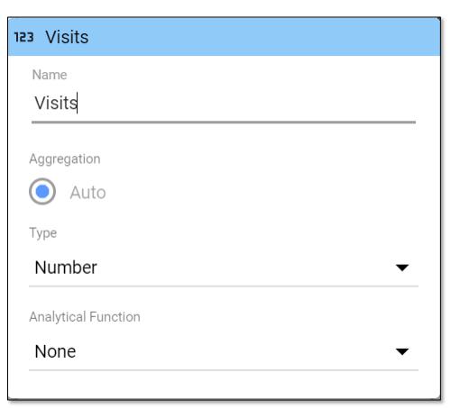 Editing Fields in Reports in Google Data Studio