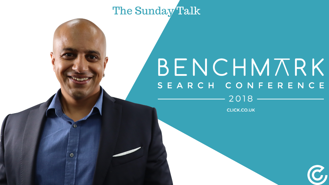 The Sunday Talk – The Benchmark Search Conference