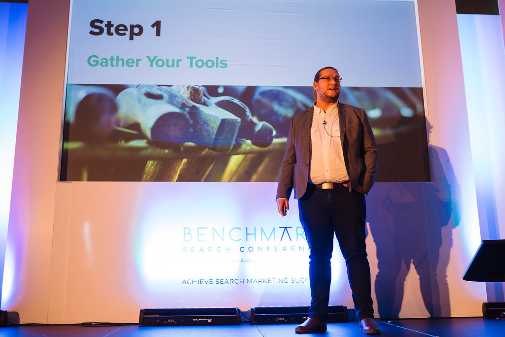 John Warner at the Benchmark Search Conference 2018