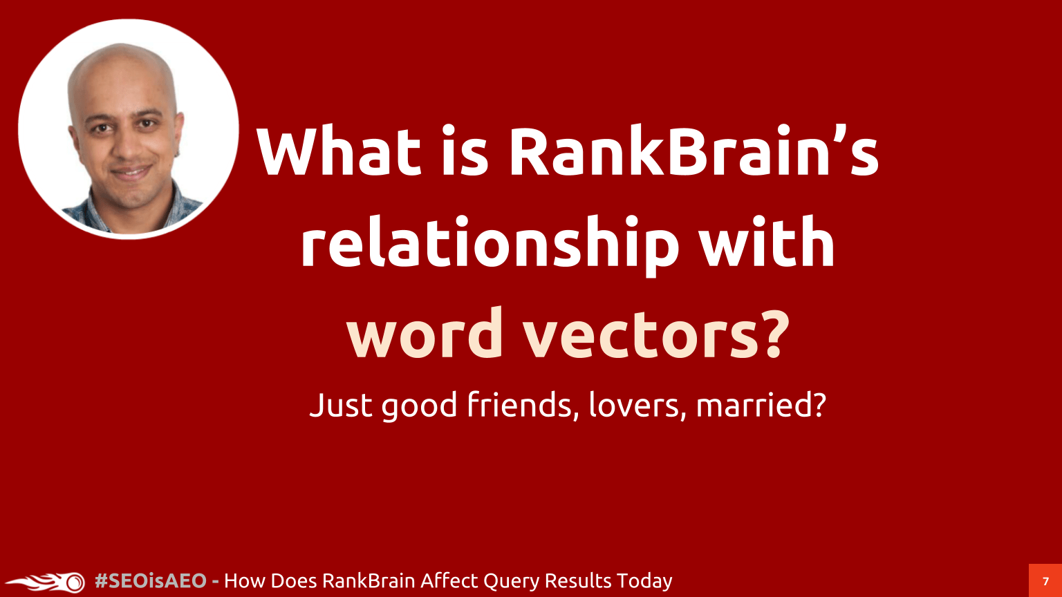 What is RankBrain's relationship with word vectors?