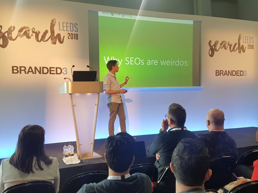 Oliver Brett at SearchLeeds