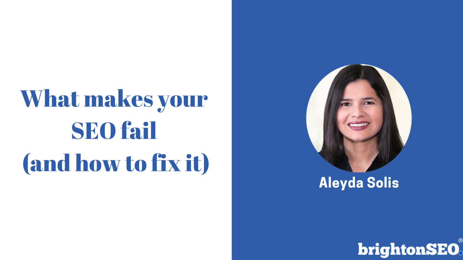 What makes your SEO fail (and how to fix it)